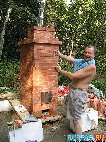 Маленькая печка для бани своими руками - Ubolussur.ru