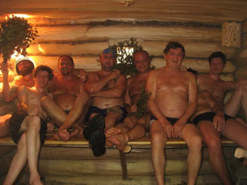 Старухой со в бане русской