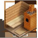 строительство бани из шом