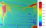 Съемка теста печи Инжкомцентр ВВД Калита Русский Пар тепловизором